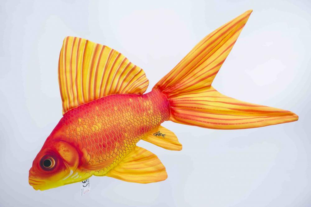 Gaby Goldfish Pillow