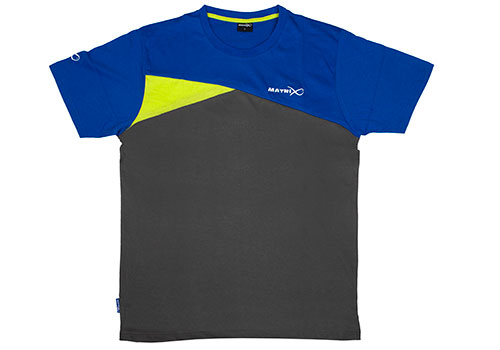 Matrix Blue & Grey T-Shirt