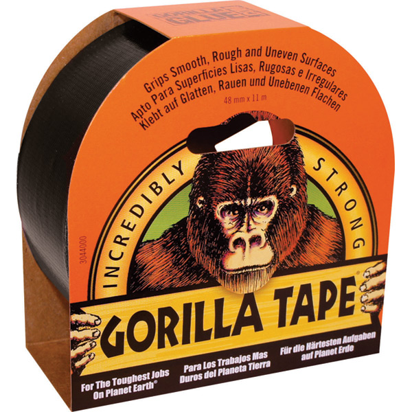 Gorilla Black Tape 11m x 48mm