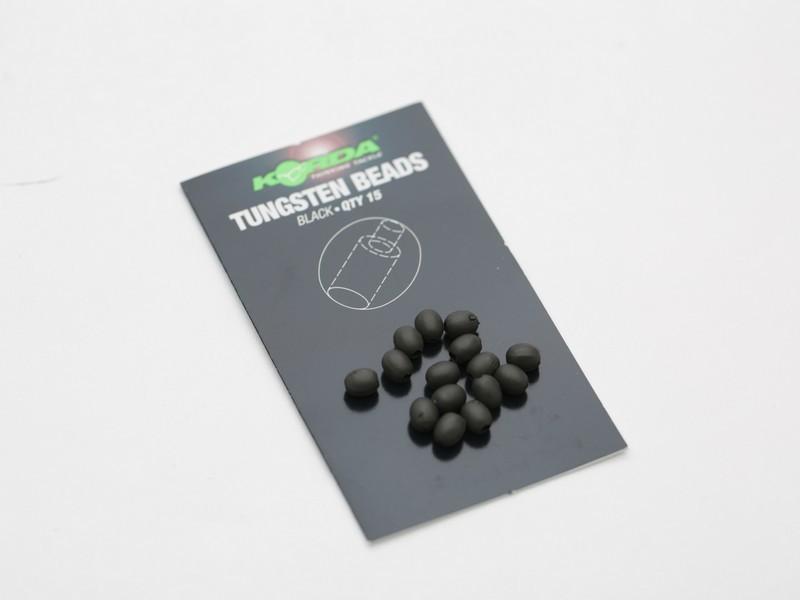 Korda Tungsten Oval Beads