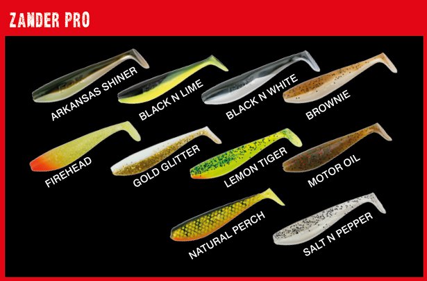 Fox Rage Zander Shad x10 Soft Baits Lures | BobCo Tackle