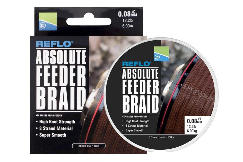 Preston Absolute Feeder Braid 150m