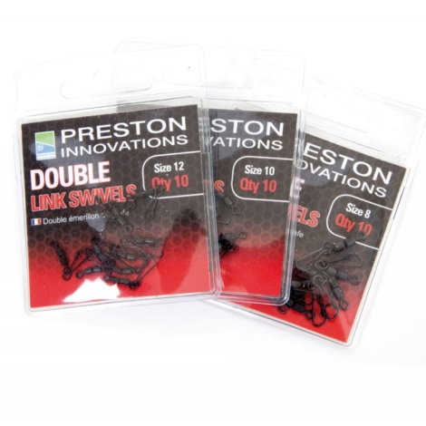 Preston Double Link Swivels