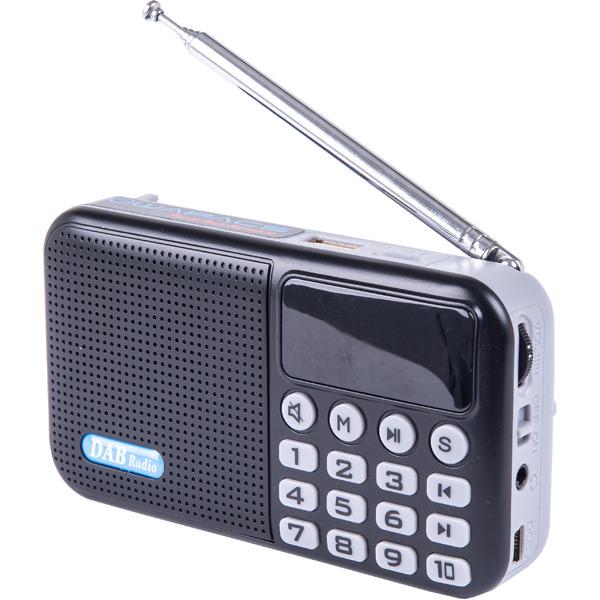 Powapacs DAB FM Radio