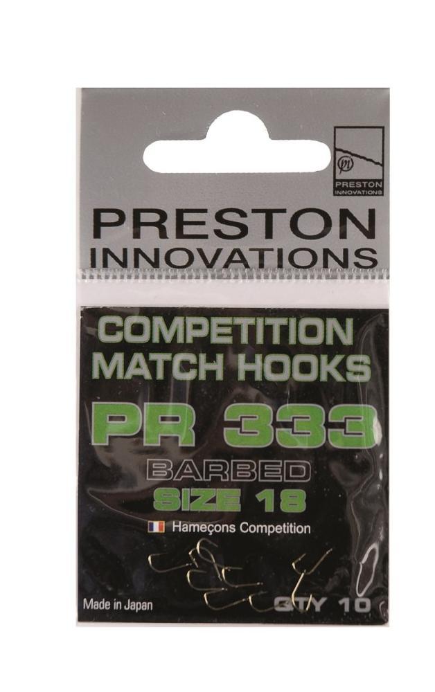 Preston Pr Competition Hooks 333