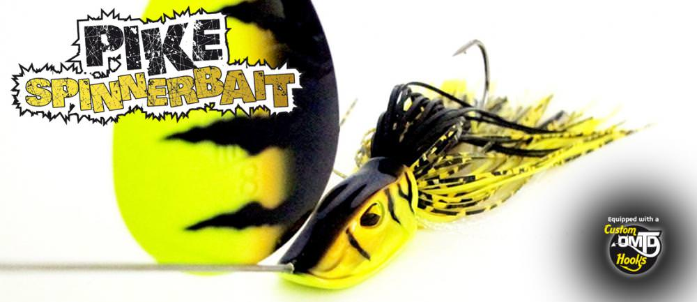 Molix Pike Spinnerbait Single Colorado
