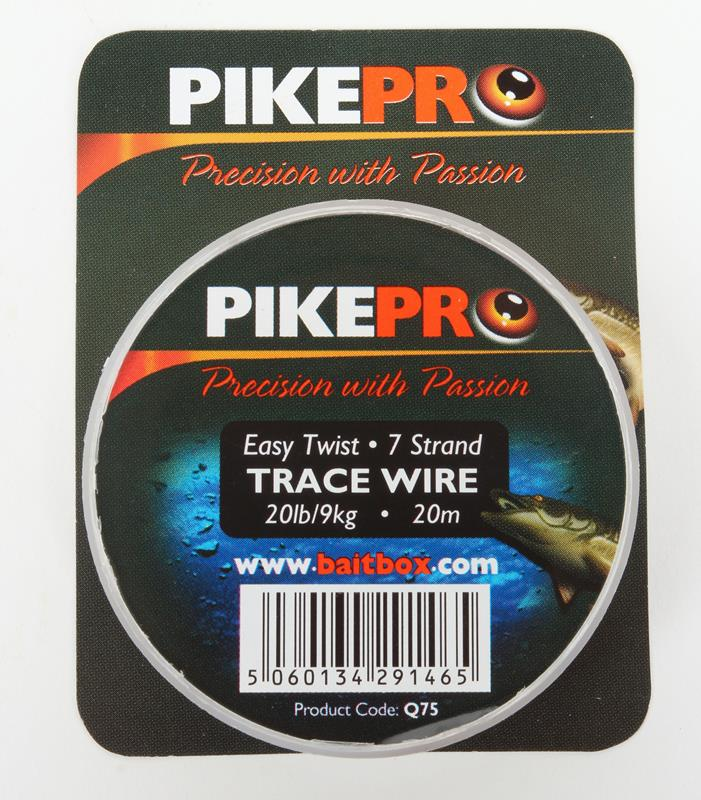Pikepro Trace Wire 7 Strand 20m