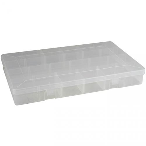 LEEDA Double Sided 20 Compartment Box