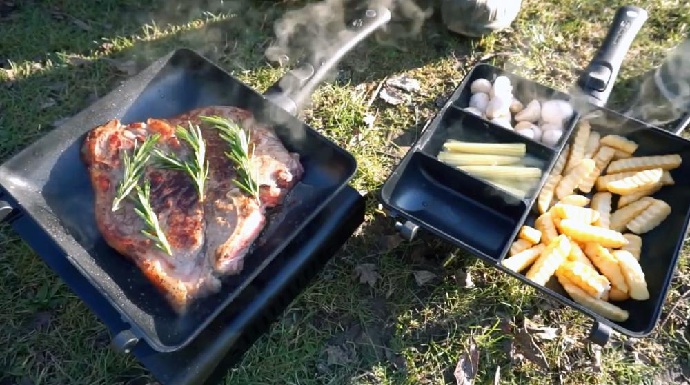 Ridge Monkey Connect Combi Pan Cookware Camping Equipment