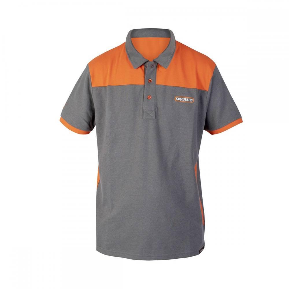 Sonu Grey & Orange Polo