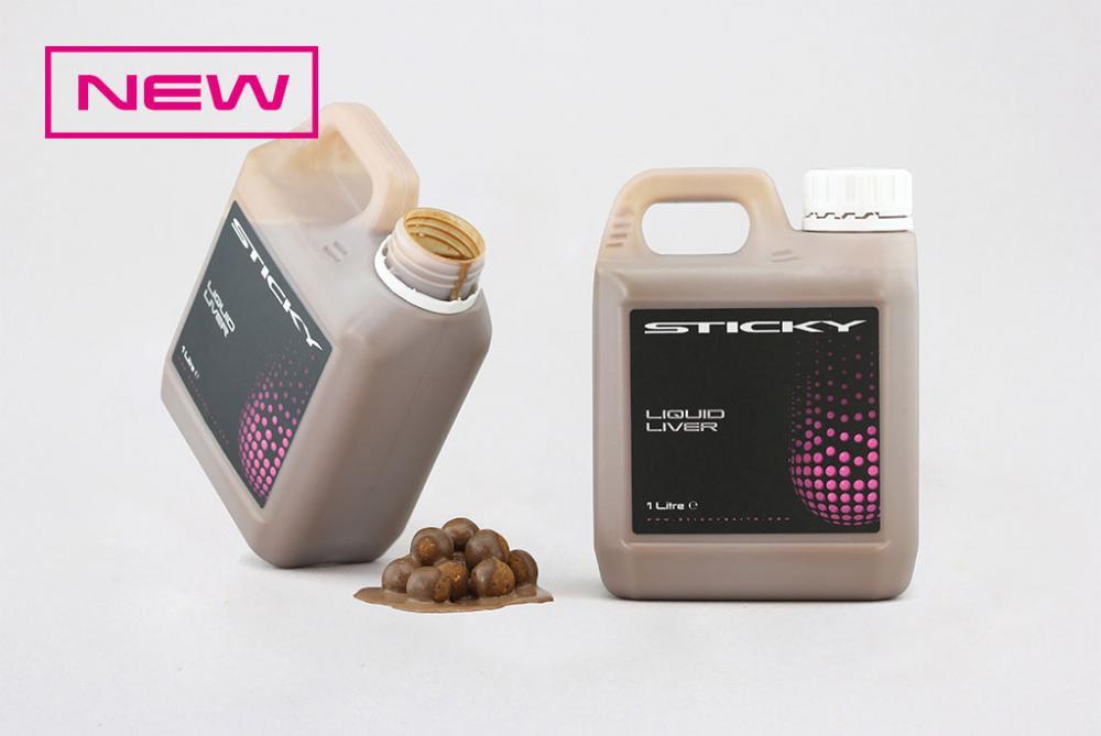 Sticky Baits Liver Liquid 1ltr