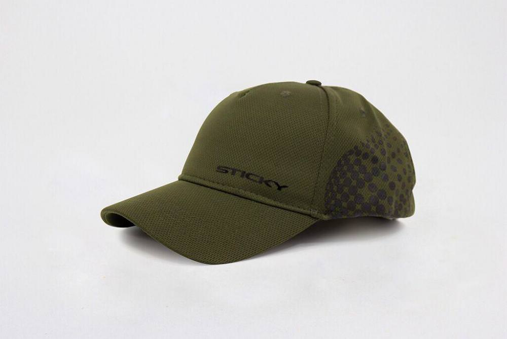 Sticky Baits Olive Airflow Cap