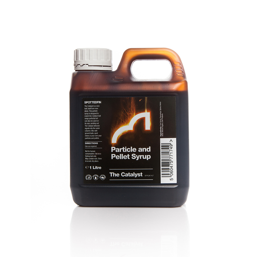 Spotted Fin The Catalyst Particle & Pellet Syrup
