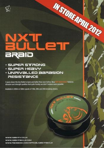 Nash NXT Bullet Braid 200m