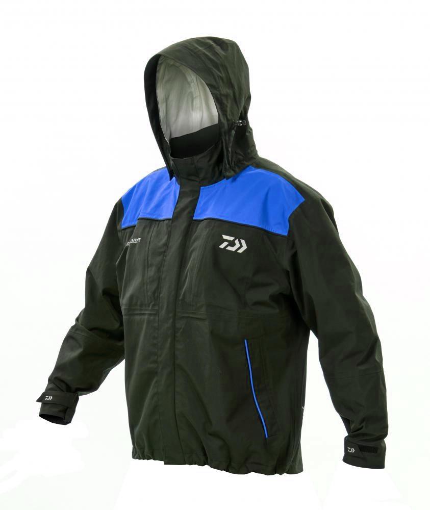 Daiwa Tournament Match Black & Blue Jacket
