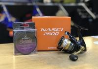 Shimano Nasci 2500 Reel & Braid Bundle