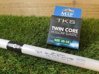 MAP TKS F1 Shalla Grey Pulla Kit and Elastic Bundle Map Twin Core Green 10-14