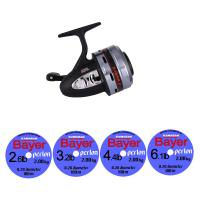 Abu Garcia Closed Face 506MK2 and 4 spools of Bayer Line