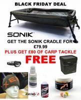 BobCo Sonik SK-TEK Cradle PLUS £80 of Carp Tackle FREE