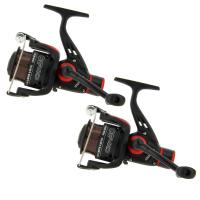 Angling Pursuits 2 x CKR30 Carp Coarse Float Feeder Fishing Reels with 8lb Line