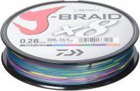 daiwa-j-braid-8-300m-multi-coloured-braid