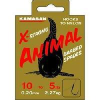 kamasan-animal-barbed-hook-to-nylon