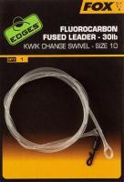 Fox Edges Fluorocarbon Fused Leader