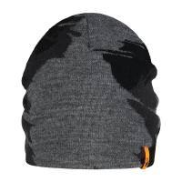Guru Skullcap Black & Grey Beanie