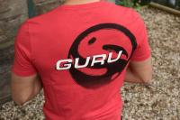 Guru Brush Logo Red T-Shirt