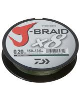 Daiwa J Braid 8 150m Dark Green