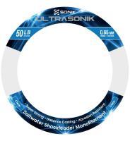 Sonik Ultrasonik Shock Leader 150m Clear 50lb 0.65mm